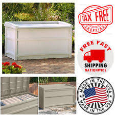Suncast Patio Storage Box by Suncast Storage Ebay