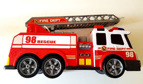 100 Fire Trucks Toys Dickie Brigade Red 98 Rescue Dept Truck Toy Sound