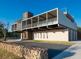 104 Shipping Container Homes In Texas Sprawling Dallas Home Is Built From 14 S
