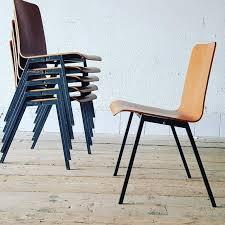 stuhl stapelstuhl teakholz designer moebel gebraucht vintage