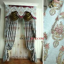 Fabric For Curtains Cheap by Luxury European Style Chenille Thick Fabric Blackout Curtain Buy