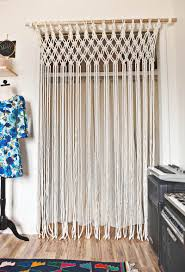 Doorway Beaded Curtains Wood by How To Macrame Curtains Macrame Curtain Closet Doors And Bedrooms