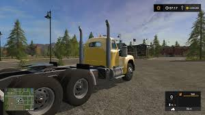 OLD MACK B61 V8 TRUCK V1.0 FS17 (3) - Farming Simulator 2017 Mods