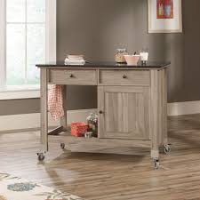 Sauder Harbor View 4 Dresser Salt Oak by Rolling Kitchen Island For Small Kitchen Midcityeast