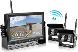 2018 Update Digital Wireless Backup Camera And 7'' Monitor Kit ... Podofo 7 Wireless Monitor Waterproof Vehicle 2 Backup Camera Kit System The Newest Upgraded Digital Amazoncom Yada Bt53872m2 Matte Black Best Aftermarket Backup Cameras Back Out Safely Safewise Ir Night Vision Car Phone Reversing For Trucks Garmin Bc 30 Truck Camper 010 8 Of 2018 Reviews Rv Welcome Quickvu Features Benefits Ip69k With 43 Dash