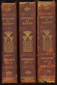 Set Encoding ISO 8859 1 START OF THIS PROJECT GUTENBERG EBOOK HISTORY EGYPT FROM 330 Produced By David Widger Character