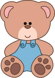 Teddy Bear Clipart School Plush Baby 2