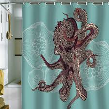 DENY Designs Octopus Shower Curtain