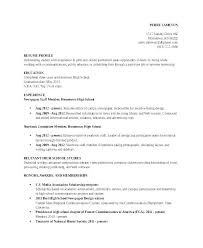 Scholarship Resume Template Student Example Format Doc Simple Accordingly