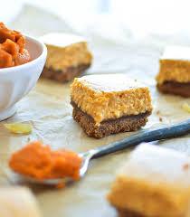 Pumpkin Gingersnap Cheesecake Bars by Ginger Pumpkin Cheesecake Bars