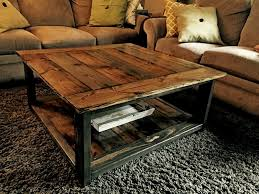 Bedroomwinsome Rustic Living Room Table Sets With Brown Sofa Plus Black Rug Also Pillow