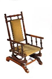 100 Cowboy In Rocking Chair 19th Century Childs 1890 United States From Bushwood