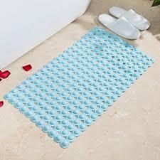 Jii2030shann Bathroom Bath Mats Floor Room Mat Non Slip Pure Pvc