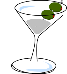 Martini With Olives Clip Art at Clker vector clip art online