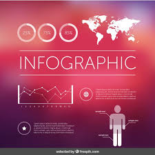 Modern Infographic Elements Free Vector