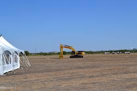 Ground Breaking of Nebraska Furniture Mart in The Colony TX
