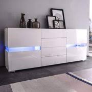 Sideboard Buffet Cabinet Kitchen Dining Room Furniture Server Table 2 Doors 4 Drawers Storage