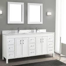 Double Sink Vanity With Dressing Table by Vanities Costco