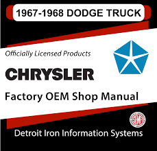 1967-1968 Dodge Truck Factory OEM Shop Manuals On CD | Detroit Iron Curbside Classic 1975 Dodge Power Wagon A Sortof Civilized 68 D200 Quad Cab Nsra Street Rod Nationals 2015 Youtube 1968 W200 Vitamin C Diesel Magazine Cheap Truck D100 Sweptline Journey Wikipedia 2017 Charger For Sale On Classiccarscom Amazing Coronet 500 By Gas Monkey Garage 1958 Town Panel Half Ton Twinsupercharged Crew Dually Up For On Craiglist 1948 Used Bseries Rack Body At Webe Autos Serving Long 1962 63 64 65 66 67 Dodge Truck Drive Shaft Yoke Nos Mopar 2231659