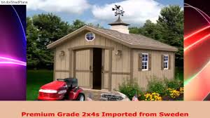 10x12 Shed Kit Home Depot by Best Barns Cambridge 10 X 12 Wood Shed Kit Youtube