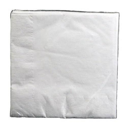 White Beverage Napkins 30 ct.