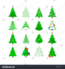 Best Kinds Of Christmas Trees by Christmas Christmas Tree Types Stock Vector Icon Set Trees Innt