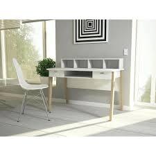 bureau blanc et bureau blanc scandinave bureau scandinave 2 tiroirs blanc magda