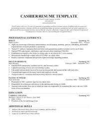 Cashier Resume Examples Retail Sample How To Write A Perfect