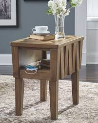 Ashley Rowenbeck Brown Chair Side End Table Signature Design By Ashley Veldar Chair Side End Table T7487 Quickship Designs Chairside Breegin Realyn Whitebrown Carlyle Fniture Royard In Brown Braunsen With Magazine Rack Usb Ports Outlets Rowenbeck Laflorn Power Pullout Shelf At Household Rafferty Dark Cross Island Medium
