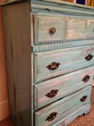 Distressing Old Furniture with Paint DIY Tutorial