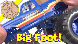 Cars Review Great Description About Bigfoot Monster Trucks Toys With ...