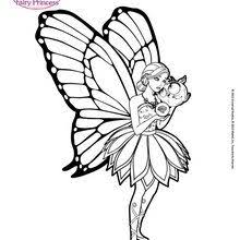 Princess Catania Is Dancing Coloring Pages