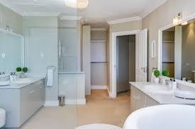 Gray And Teal Bathroom by Copacabana Holiday Villa In Llandudno