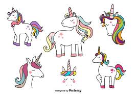 Unicorn Free Vector Art