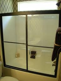 bypass shower enclosure shower glass charlotte barefoot and