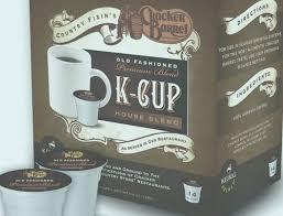 Cracker Barrel K Cup Box Design