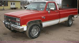 1984 Chevrolet K10 Silverado Pickup Truck | Item A6564 | SOL... 1984 Chevrolet Silverado Hot Rod Network Truck 84ch4619c Desert Valley Auto Parts Vintage Motorcars 7891704f0608fc Low Res For Chevy M1008 Cucv D30 4x4 Military 39000 Original Miles Rm Sothebys C10 Shortbed Auburn Fall 2012 K10 Ideal Classic Cars Llc 278 Tpa Youtube Ck For Sale Near Cadillac Michigan 49601 Pickup Truck Item A6564 Sol Shortbed Sale Autabuycom Scottsdale Coub Gifs With Sound