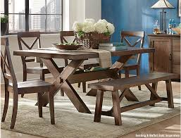 Claremont Trestle Table Art Van Home Rh Artvan Com Dining Room Set Furniture