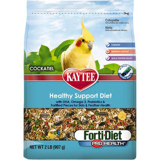 Kaytee Forti-Diet Pro Health Cockatiel Food - 2lbs