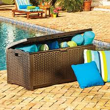 Suncast Patio Storage Box by Suncast Deck Storage Boxes Improvements Catalog