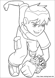 Ben 10 Coloring Pages Games