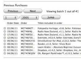 How to see your purchase history in iTunes