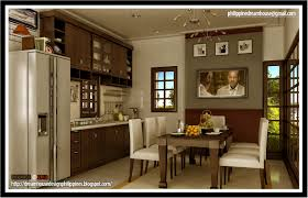 Modern Dining And Kitchen Design Combine HOUSE DESIGN