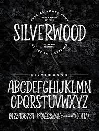 Silverwood Rustic Font