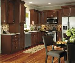 Oakcraft Cabinets Full Overlay by Cafe Maple Cabinet Finish Aristokraft Cabinetry