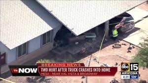 Pickup Truck Crashes Into House In Mesa - ABC15 Arizona Truck Crashes Into House At Scottsdale The Courier Garbage Truck After Losing Brakes On Hill In Hawthorne Update Cloverdale Home Langley Times Wind Turbine Blade Slices Into Semitruck In Crazy Autobahn Crash Pickup Mesa Abc15 Arizona Video Ftilizer Highway 32 West Monster Crashes Party Travel Channel Fedex Loses Mail North Of Livingston View Pittsburgh Postgazette Tesla Model S Driver Walks Away From Crash With A Amazon Prime While Entering I5 Rest Area Local