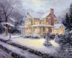 Thomas Kinkade Christmas Tree Cottage by Thomas Kinkade Wallpaper 89 Images Pictures Download