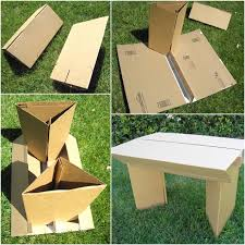 How to Make Furniture With Cardboard and Duct Tape