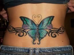 Best 25 Tattoos On Lower Back Ideas Pinterest