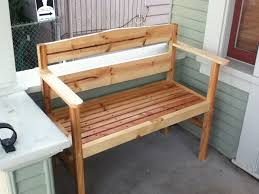 Wood Lawn Bench Plans by Ana White Garden Bench On A Diet Diy Projects